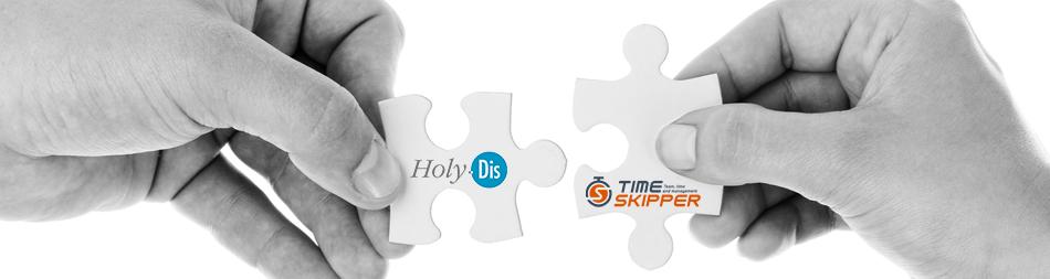 Holy-Dis Et TimeSkipper S'allient Pour Fluidifier Et Piloter Le Quotidien Des équipes Et Des Tâches